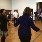 Julie Andrijeski led a Baroque Dance Workshop
