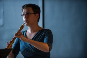 Debra Nagy performs on the baroque oboe