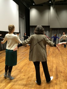 Dance Class at Univ. of Michigan